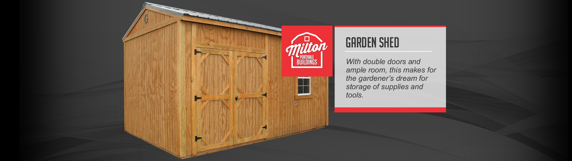 Garden Sheds Florida milton portable buildings sheds and carports | the best deals on